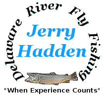 Delaware River fly fishing with Jerry Hadden.