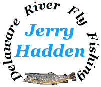Delaware River fly fishing conditions.