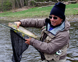Upper delaware river float trips fly fishing with guide for How much is a new york state fishing license